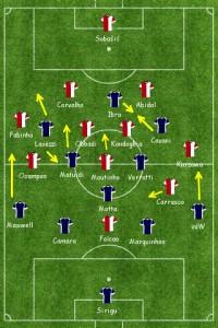 PSG v Monako
