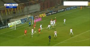 Jaga-Widzew 1-0 Gajos