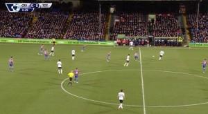 Zdecydowanie wyżej ustawiona środkowa linia Crystal Palace i próba wyższego pressingu w porównaniu z meczem przeciwko Aston Villa.