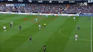 krycie 1v1 Bale'a - asekuracja